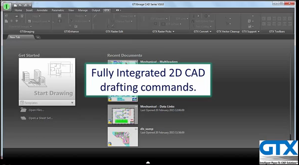 GTXImage CAD V18 Series Overview video